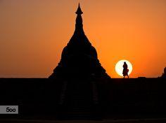 Photograph Sunset at Mrauk-U, Myanmar. by Suchet Suwanmongkol on 500px