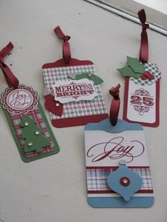 Tags with Stocking Accents Robin Armbrecht