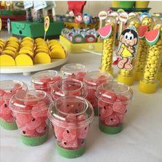 21 Ideas Baby Girl Birthday Watermelon For 2019 Watermelon Birthday Parties, Fruit Birthday, 2nd Birthday Party Themes, Flamingo Birthday, Fruit Party, First Birthday Parties, First Birthdays, Happy Birthday B, Baby Girl Birthday