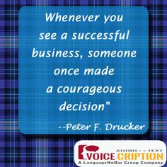 Voicecription, voice over service provider - Quote of the Day  #GermanVoiceOvers
