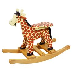 You'll love the Safari Giraffe Rocking Horse at Wayfair - Great Deals on all Baby & Kids  products with Free Shipping on most stuff, even the big stuff.