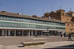 Spain. Castilla La Mancha. Almagro. Plaza Mayor
