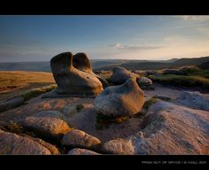 Kinder Scout, Derbyshire,   An almost alien landscape and breathtakingly beautiful. Worth the climb!