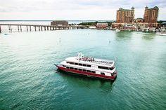 Solaris dinner or brunch cruise at the Sandestin Marina. SouthWaltonVacation.com