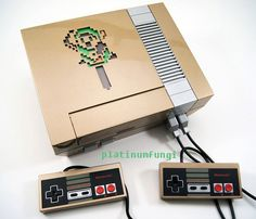 Consola NES modificada al estilo The Legend of Zelda – Nerdgasmo
