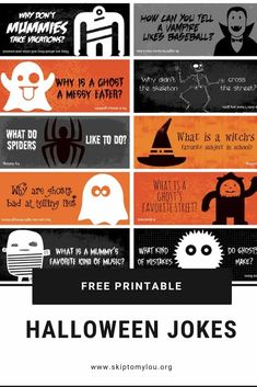 Make the whole month of October fun with these Halloween Lunch Box Jokes. Halloween jokes for kids are silly and sure to get a giggle from your child. Best Halloween Jokes, Halloween Cards, Holidays Halloween, Halloween Fun, Halloween Office, Halloween Quotes, What Is A Witch, Jokes And Riddles, Jokes For Kids