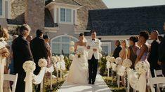 Jumping the Broom wedding in backyard