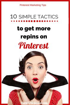 If Pinterest is a vital part of your marketing strategy, then these simple tips can help you to increase the repin frequency of your pins on Pinterest. Repins are the most valuable Pinterest currency, because they can carry the link back to your website or blog. Amplifying your reach on #Pinterest requires a variety of tactics and, at the beginning, a lot of patience. Here are 10 simple and powerful tactics to get more repins | via #BornToBeSocial - Pinterest Marketing