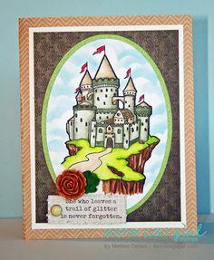 MelissaO - Needful Things Castle on a Cliff digi!