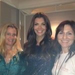 Lora Jakobsen of FoodStirs and Laura Gerson of MomAngeles with Ali Landry at BLP Connect 2013.