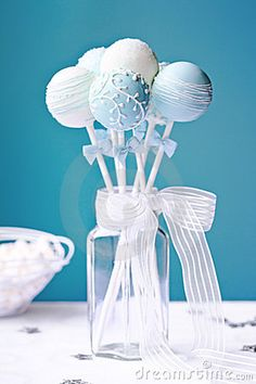 Wedding Cake Pops Stock Image - Image: 24442481