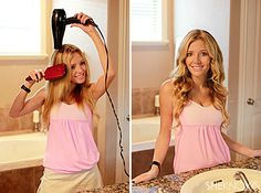8 Easy steps to perfectly curled hair
