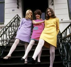 ...clothes in the '60s were all about structure, color, and fun.