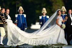 One Couture Bride: Celebrity Wedding Flashback: Princess Madeleine of Sweden