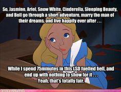 Disney Memes Do It Better | Do Drugs - Fantasia/Alice in Wonderland