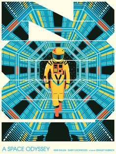 "Matt Chase ""2001: A Space Odyssey"" Print"