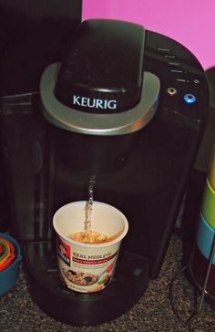 Completely forgot I can do this with my Keurig!!!