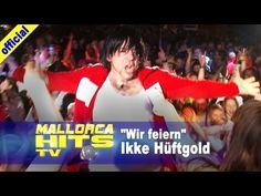 """Ikke Hüftgold mit der Bierkönig Hymne """"Wir feiern"""". """"Wir feiern - Bierkönig Oberbayern"""" der Opening Song bei Ikke Hüftgold´s Live Auftritten! Falls Ikke also mal in der Nähe eine Show hat - unbedingt vorbeischauen. http://MallorcaHitsTV.de"""