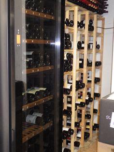 bouteilles de vin narrow house