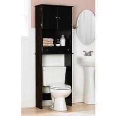 E Saver Over The Toilet Cabinet Espresso