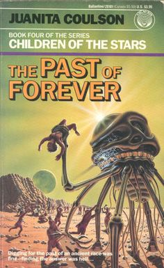 DAVID SCHLEINKOFER - The Past of Forever by Juanita Coulson - 1989 Del Rey / Ballantine