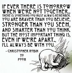 Stronger than you seem winnie the pooh