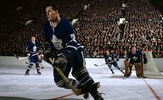George Armstrong, Johnny Bower, Kent Douglas, Tim Horton.