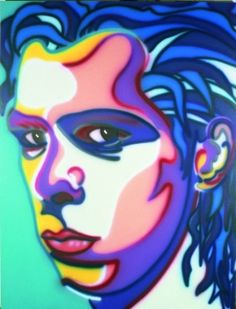 'Nick Cave' - Suburbia Series of paintings. Artwork by Howard Arkley - Australian Aerosol Artists Howard Arkley, The Bad Seed, Nick Cave, National Portrait Gallery, Australian Artists, Limited Edition Prints, Art Reproductions, Art Studios, Online Art