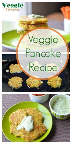 Veggie Pancake Recipe