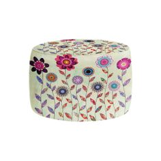 Ottomans - Prop up your feet or rest your tush with a cushy Ottoman by DiaNoche Designs.  Match your area rug, blanket or couch pillows to your new living room accessory.  Choose a square or round style.