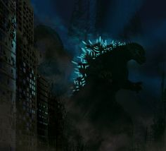 Godzilla 2014 Fan Art Picture