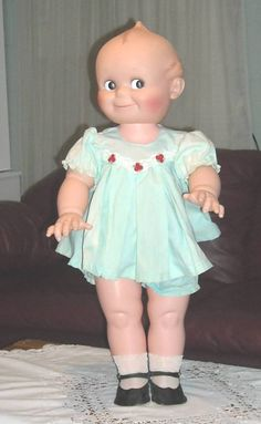 I still have my mom's kewpie doll...