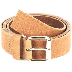 Carven Slim leather belt via Polyvore