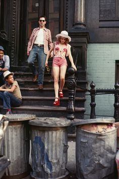 Robert De Niro and Jodie Foster in 'Taxi Driver', 1976