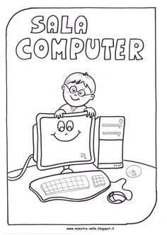Computer Exam, Computer Lab Lessons, Computer Teacher, Girl Scout Leader, Girl Scouts, Easy Drawings, Pixel Art, Classroom, Coding