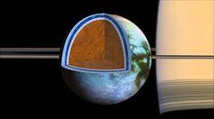 El océano subterráneo de Titán es tan salado como el Mar Muerto