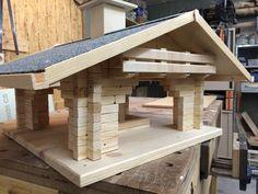"""Vogelhaus """"Fly in"""" Bauanleitung zum selber bauen"""