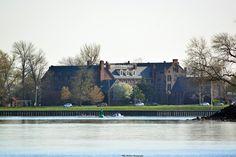 Springtime shot of Doane Academy in Burlington, NJ.