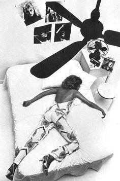 Photo by Helmut Newton, 1965. LOVED BY #PostcardVintage http://postcardvintage.com.au/search?type=product&q=jumpsuit