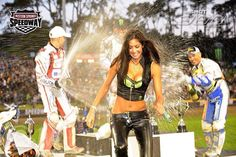 Monster Energy Girls NZ - #HBelite  #NZSGP Cody on Podium  info@HBelite.com