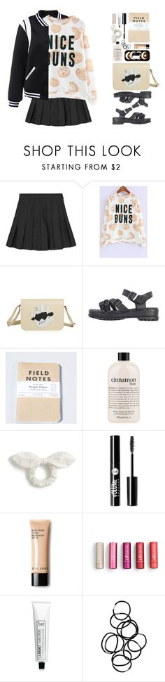 """Double Take: Statement Sandals"" by beebeely-look ❤ liked on Polyvore featuring philosophy, J.Crew, Charlotte Russe, L:A Bruket, Monki, sandals, preppy, statementshoes, statementtshirt and twinkledeals"