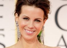 "One of #KateBeckinsale​'s secrets: ""Use a circular motion with your fingers and massage your favorite cleanser into the skin for sixty seconds. Concentrate on your nose and chin and neck. People forget about their décolleté, but all of it is one piece. It's their canvas from your forehead to the décolleté."""