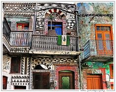 United Colors!  Pyrgi Village  Chios Island Greece  By tolis*   Best seen large! Trust me!  via Flicker
