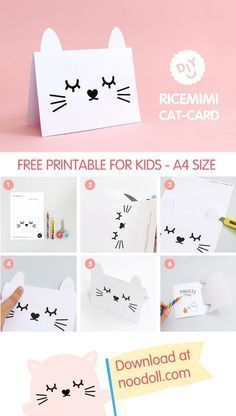 Ricemimi Greeting Card Birthday Card Printable Birthday Cards Diy Cool Birthday Cards