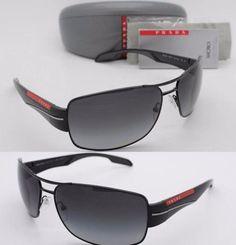Sunglasses PS 53NS 7AX5W1 Black 65MM  PRADA SPORT  #PRADASPORT