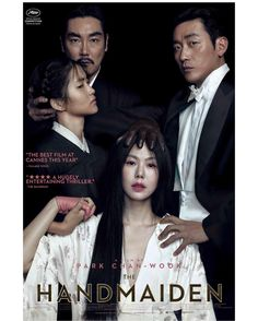 Admiring the composition of Park Chan Wook's new film THE HANDMAIDEN #MoviePosterMonday    Image courtesy of Magnolia Pictures