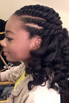 Skai Jackson Curly Black Afro, Barrel Curls, Cornrows, Twists Hairstyle | Steal Her Style
