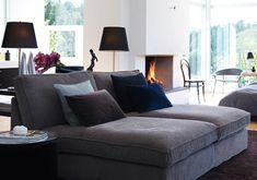 Nice and cheap Ikea sofa  Sofa Kivik In zweifacher Ausführung nebeneinander gestellt, bietet dieses Sofa eine XXL-Liegefläche. Erhältlich mit zwölf verschiedenen textilen Bezugsstoffen und drei Lederbezügen. Händler: IKEA Preis: ab 380 Euro www.ikea.de