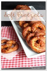 Soft Pretzel from MyRecipeMagic.com