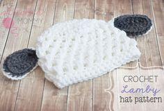 Crochet Lamby Hat Pattern by TheStitchinMommy on Etsy, $4.50